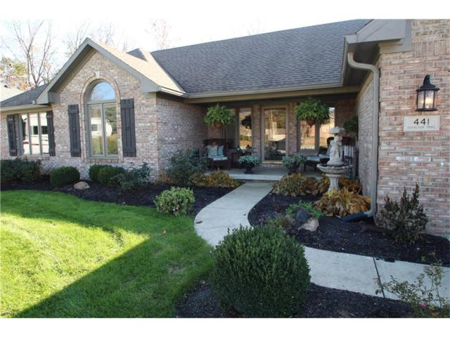 441 Overlook Trail, Plainfield, IN 46168 (MLS #21524316) :: Heard Real Estate Team