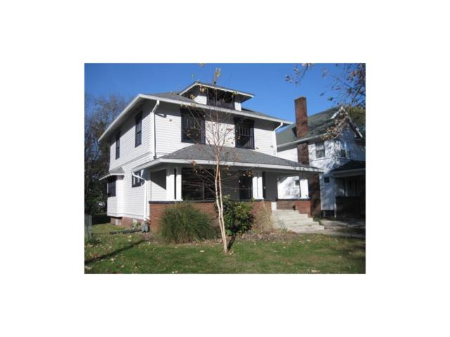 1124 E 35th Street, Indianapolis, IN 46205 (MLS #21525214) :: Indy Scene Real Estate Team
