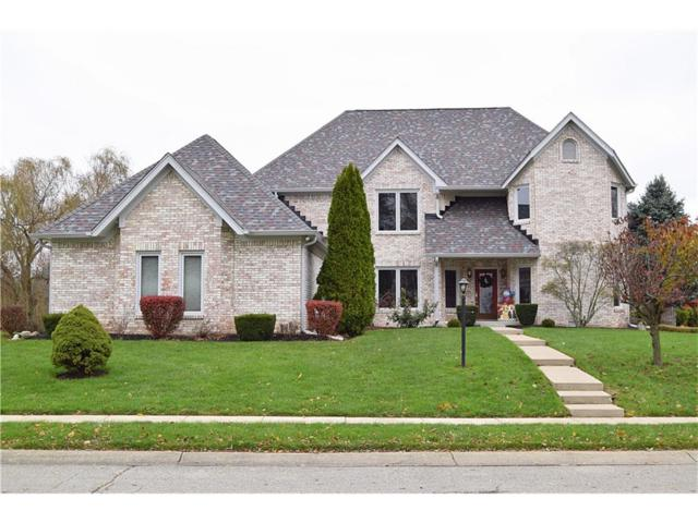 10706 Birch Tree Circle, Lawrence, IN 46236 (MLS #21525342) :: The Evelo Team