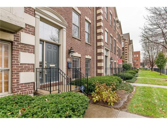 240 N New Jersey Street, Indianapolis, IN 46204 (MLS #21525345) :: The ORR Home Selling Team