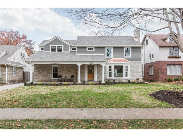 432 W Hampton Drive, Indianapolis, IN 46208 (MLS #21525436) :: Indy Scene Real Estate Team
