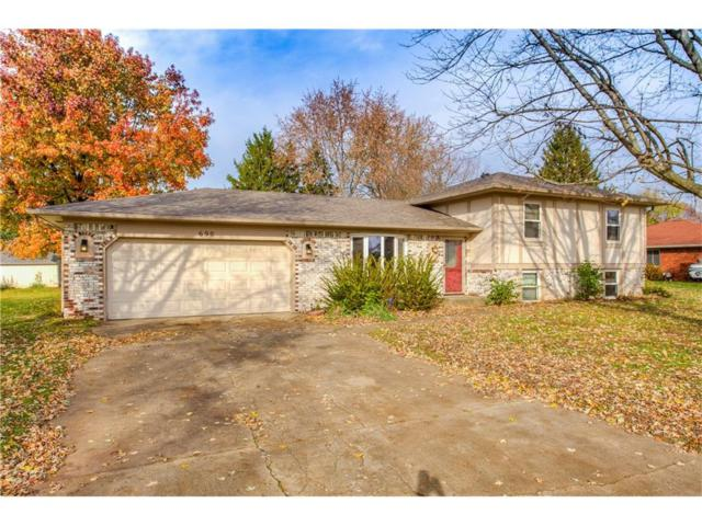 690 Green Meadow Drive, Greenwood, IN 46143 (MLS #21525774) :: The Evelo Team