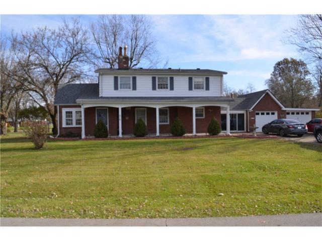 216 Golf Club Road, Anderson, IN 46011 (MLS #21525896) :: The Evelo Team