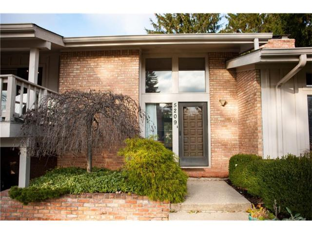 5209 Brief Run, Indianapolis, IN 46226 (MLS #21525977) :: The Evelo Team