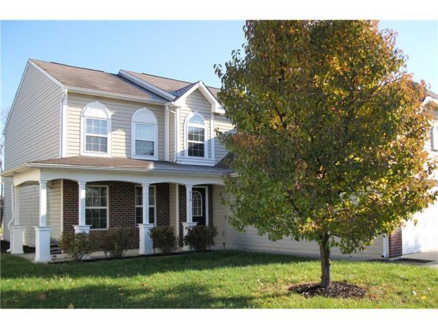 848 Heatherwood Drive, Greenwood, IN 46143 (MLS #21525986) :: The Evelo Team