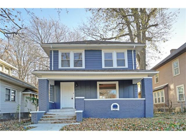 1231 N Oakland Avenue, Indianapolis, IN 46201 (MLS #21526038) :: The Evelo Team