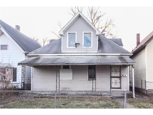 306 S Holmes Avenue, Indianapolis, IN 46222 (MLS #21527409) :: Indy Scene Real Estate Team
