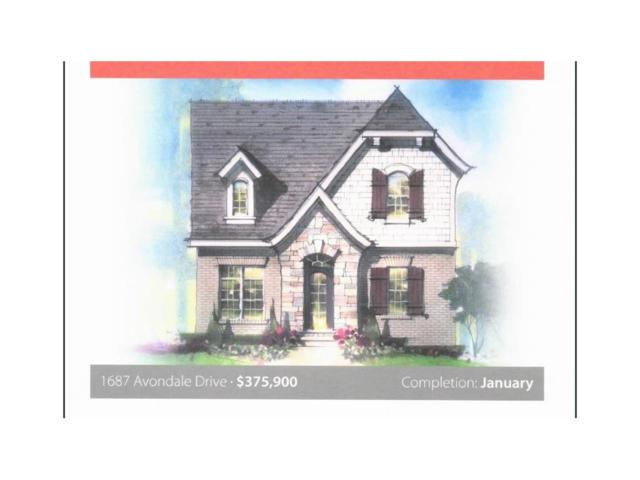 1687 Avondale Drive, Westfield, IN 46074 (MLS #21527514) :: Heard Real Estate Team