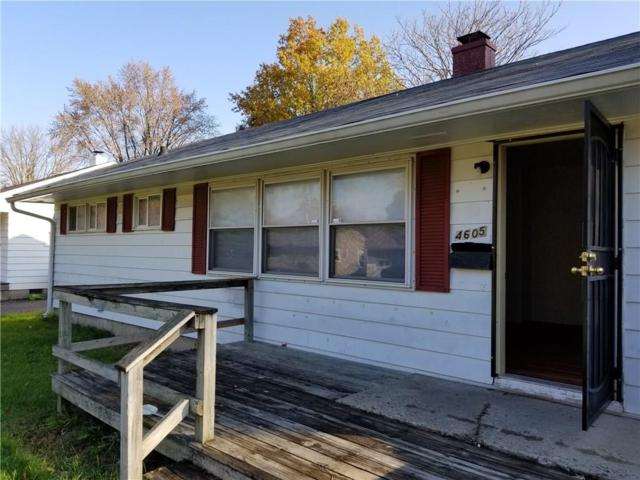 4605 Elmhurst Drive, Indianapolis, IN 46226 (MLS #21527804) :: The Gutting Group LLC