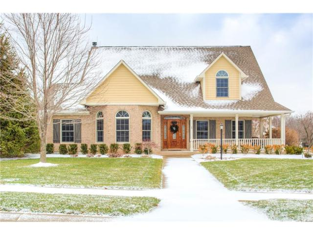 4816 Pearcrest Way, Greenwood, IN 46143 (MLS #21529129) :: The ORR Home Selling Team