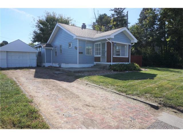 1407 Albany Street, Beech Grove, IN 46107 (MLS #21529924) :: Indy Scene Real Estate Team