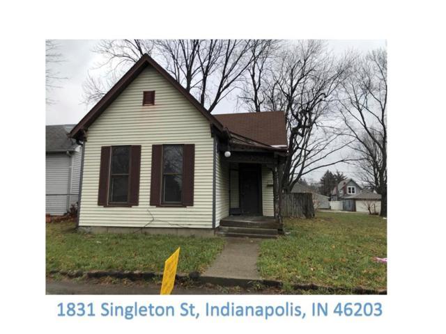 1831 Singleton Street, Indianapolis, IN 46203 (MLS #21539642) :: Indy Scene Real Estate Team