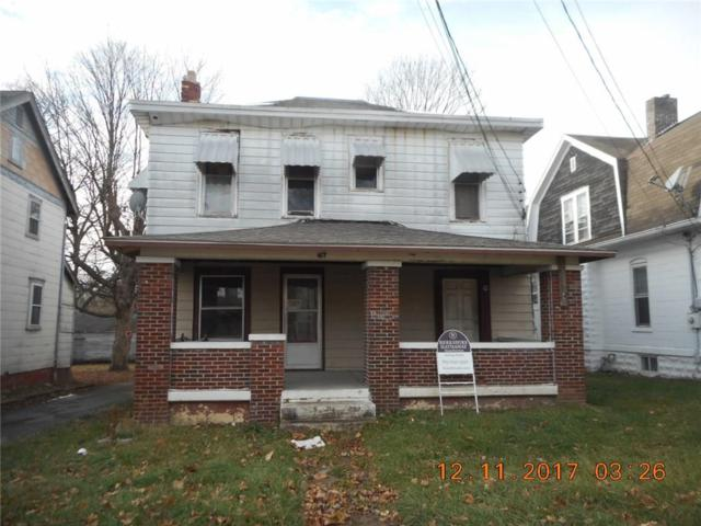 417 S 12th Street, New Castle, IN 47362 (MLS #21540275) :: The ORR Home Selling Team