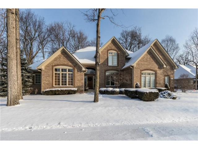 5826 Dawnwood Drive, Carmel, IN 46033 (MLS #21540473) :: Heard Real Estate Team