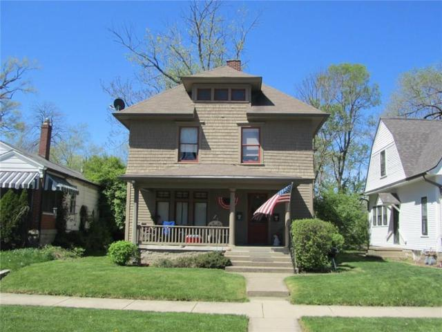 28 S Hawthorne Lane, Indianapolis, IN 46219 (MLS #21540622) :: Indy Scene Real Estate Team