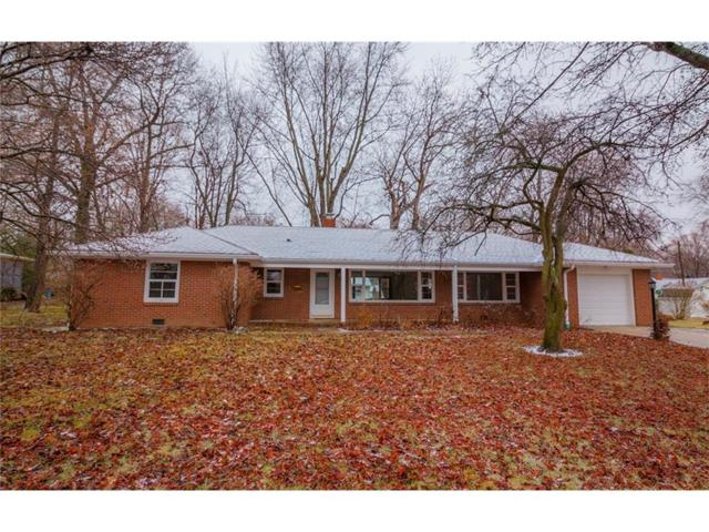 708 Pershing Drive, Anderson, IN 46011 (MLS #21540736) :: The ORR Home Selling Team