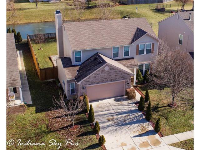 4137 Hennessey Drive, Plainfield, IN 46168 (MLS #21540901) :: The Evelo Team