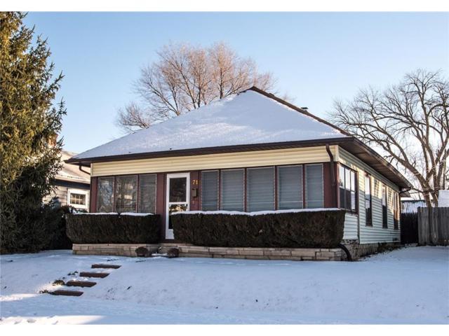 71 S 9th Avenue, Beech Grove, IN 46107 (MLS #21541379) :: Indy Scene Real Estate Team