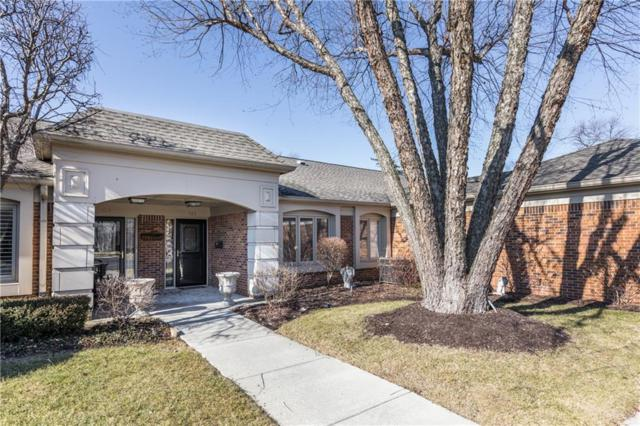 422 Bent Tree Lane, Indianapolis, IN 46260 (MLS #21541642) :: The ORR Home Selling Team