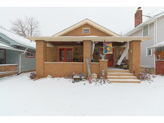 754 N Riley Avenue, Indianapolis, IN 46201 (MLS #21541816) :: Indy Scene Real Estate Team