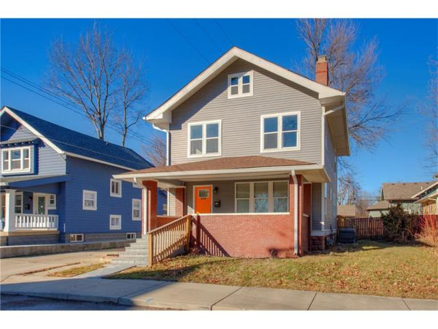 614 E 33RD Street, Indianapolis, IN 46205 (MLS #21542100) :: Indy Scene Real Estate Team