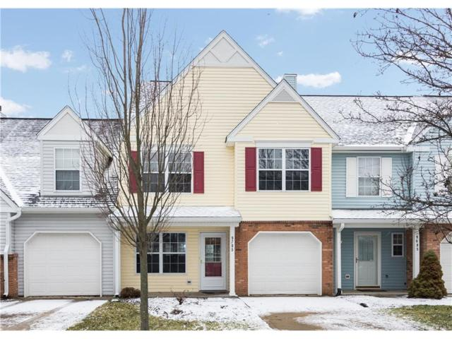 9705 Lenwood Street, Fishers, IN 46038 (MLS #21542158) :: The Evelo Team