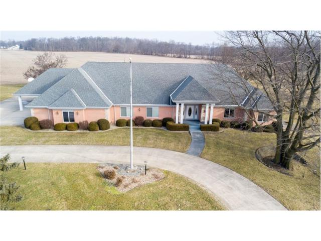 8880 S County Road 800 W, Daleville, IN 47334 (MLS #21542432) :: The ORR Home Selling Team