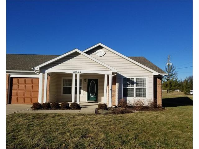 10949 Golden Harvest Way, Indianapolis, IN 46229 (MLS #21544252) :: The Evelo Team