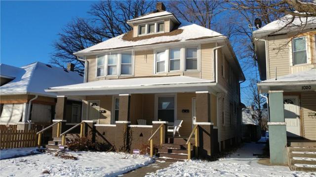 1018 N Tuxedo Street, Indianapolis, IN 46201 (MLS #21545732) :: Indy Scene Real Estate Team