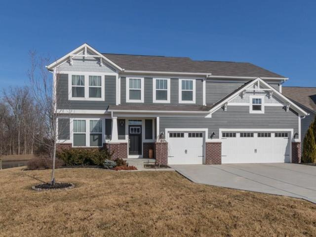 14354 Brook Meadow Drive, Mc Cordsville, IN 46055 (MLS #21545986) :: The Evelo Team