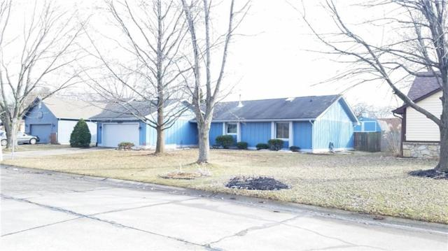 6929 Burmaster Court, Indianapolis, IN 46214 (MLS #21546070) :: The ORR Home Selling Team