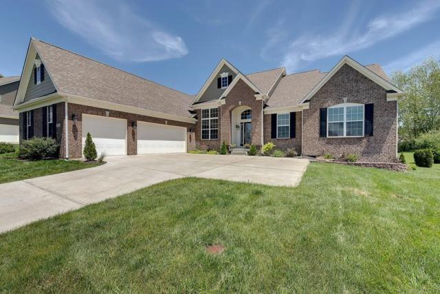 3209 Willow Bend Trail, Zionsville, IN 46077 (MLS #21546165) :: The Evelo Team