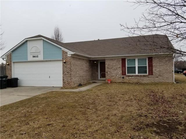 5602 Rains Lane, Indianapolis, IN 46254 (MLS #21546344) :: The Evelo Team