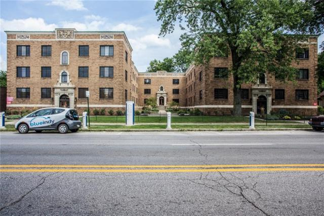 5347 N College Avenue #105, Indianapolis, IN 46220 (MLS #21546421) :: Indy Scene Real Estate Team