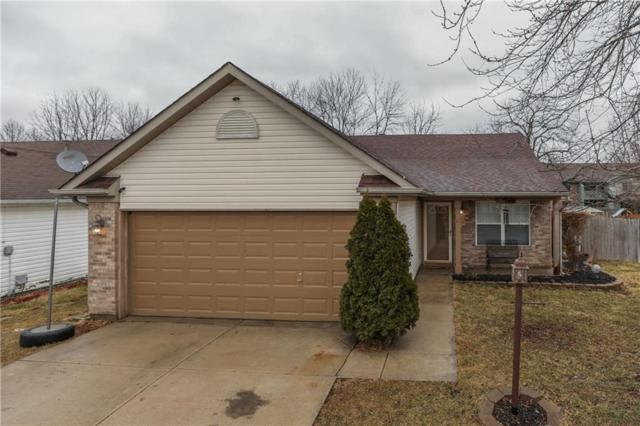 1443 Sanner Drive, Greenwood, IN 46143 (MLS #21546598) :: The Evelo Team