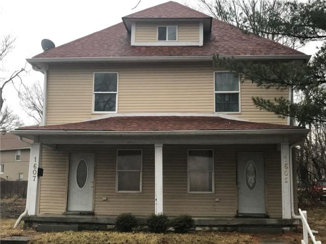 1605 Nowland, Indianapolis, IN 46201 (MLS #21546689) :: RE/MAX Ability Plus