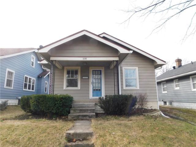 108 S Spencer Avenue, Indianapolis, IN 46219 (MLS #21546924) :: Indy Plus Realty Group- Keller Williams