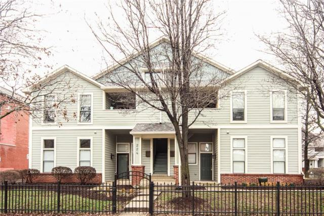 224 E 13th Street A, Indianapolis, IN 46202 (MLS #21548523) :: The ORR Home Selling Team