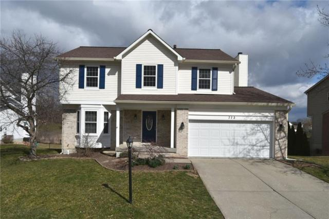 772 Burr Oak Drive, Greenwood, IN 46143 (MLS #21548748) :: Mike Price Realty Team - RE/MAX Centerstone