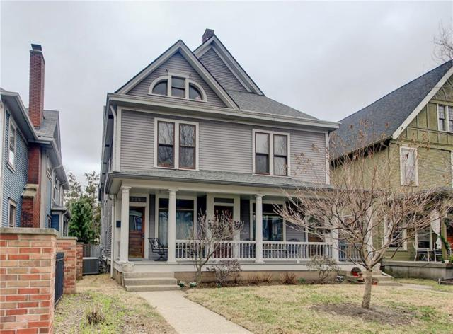 1223.5 N New Jersey Street #1223.5, Indianapolis, IN 46202 (MLS #21548860) :: The ORR Home Selling Team