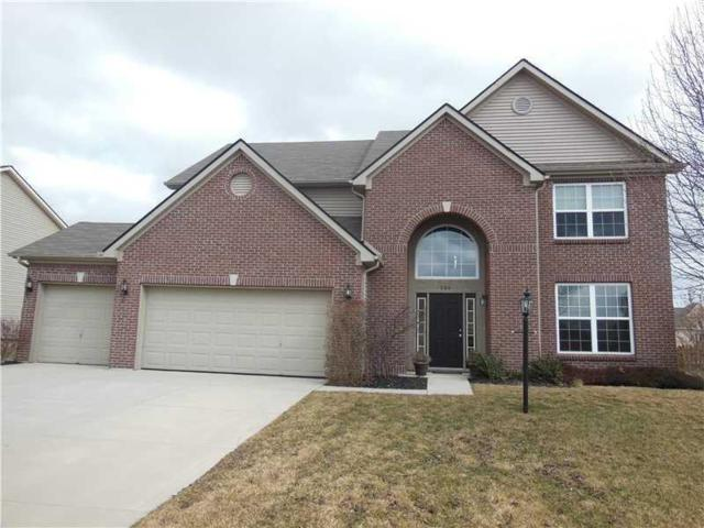 706 Bristle Lake Drive, Brownsburg, IN 46112 (MLS #21550731) :: Mike Price Realty Team - RE/MAX Centerstone