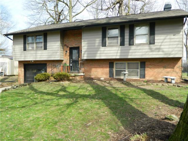 818 Yorkshire Road, Anderson, IN 46012 (MLS #21551397) :: RE/MAX Ability Plus