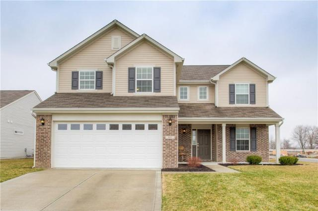 801 Briarstone Drive, Greenwood, IN 46143 (MLS #21552245) :: Heard Real Estate Team