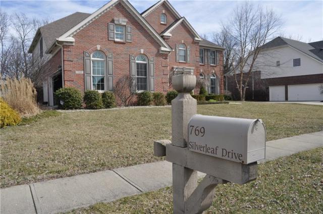 769 Silverleaf Drive, Greenwood, IN 46143 (MLS #21552494) :: The ORR Home Selling Team