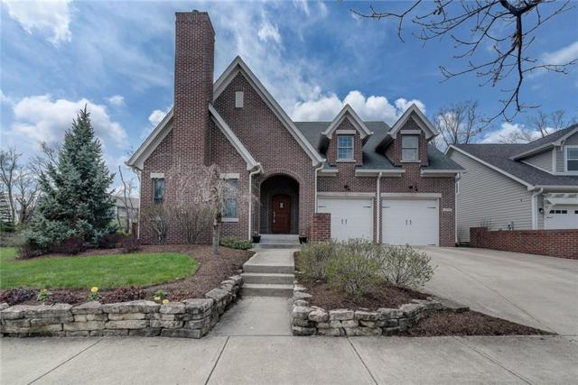6740 W Stonegate Drive, Zionsville, IN 46077 (MLS #21554286) :: The Evelo Team