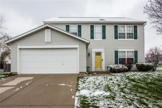 8920 Woodlark Drive, Fishers, IN 46038 (MLS #21554483) :: The Evelo Team