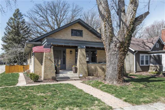 5602 Carrollton Avenue, Indianapolis, IN 46220 (MLS #21555745) :: RE/MAX Ability Plus