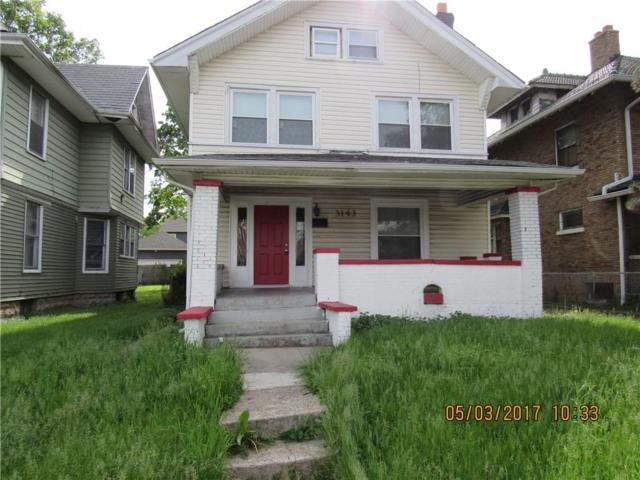 3143 N Capitol Avenue, Indianapolis, IN 46208 (MLS #21557001) :: The Evelo Team
