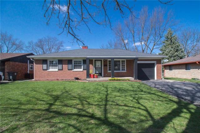 7428 E 49TH Street, Indianapolis, IN 46226 (MLS #21557145) :: The Evelo Team