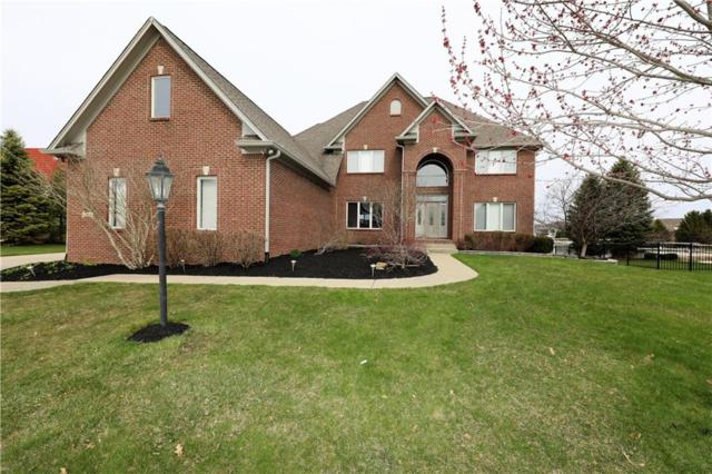 12908 Rocky Pointe Road, Mccordsville, IN 46055 (MLS #21557281) :: The Evelo Team